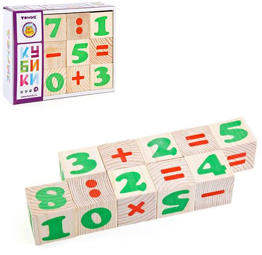 Кубики: Цифры - Томик