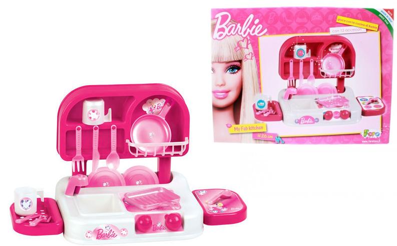 Детская кухня Барби, 26 см – FARO