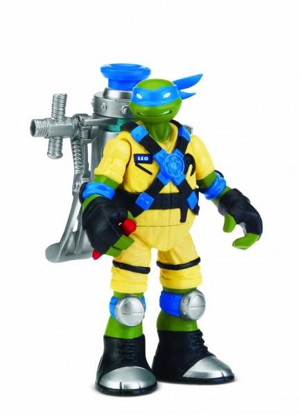 Черепашки Ниндзя: Мутагенный Лео фигурка 12 см - Playmates Toys