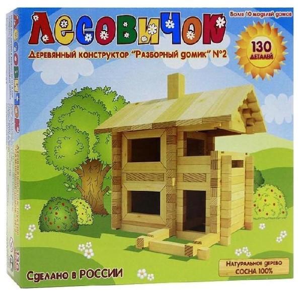 Конструктор деревянный: