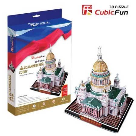 3D пазл: Исаакиевский собор, большой пазл - CubicFun