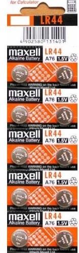 Элемент питания Maxell LR44