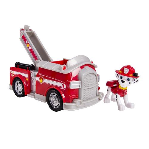 Paw Patrol: Машинка спасателя и фигурка Маршал - Spin master