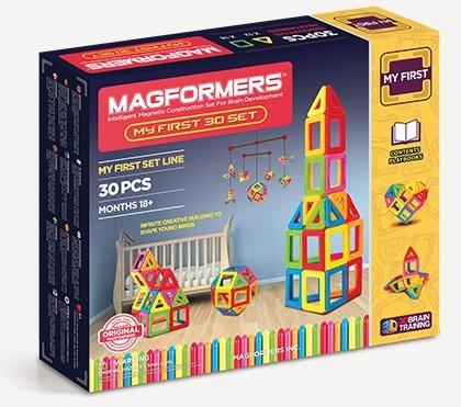 Магнитный конструктор Magfomers: My First, 30 деталей