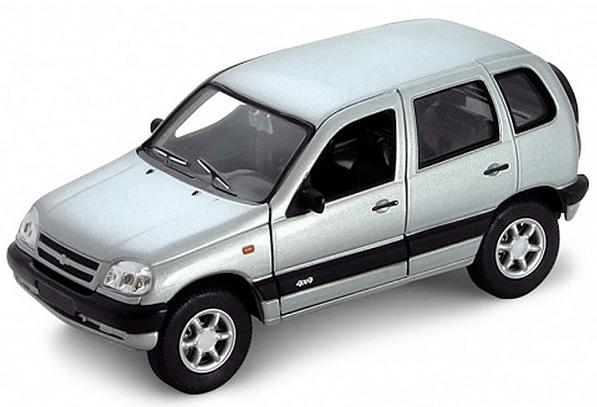 Модель машины Chevrolet Niva - Welly