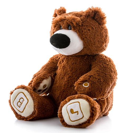 Игрушка Luv'n Learn интерактивный медведь коричневый