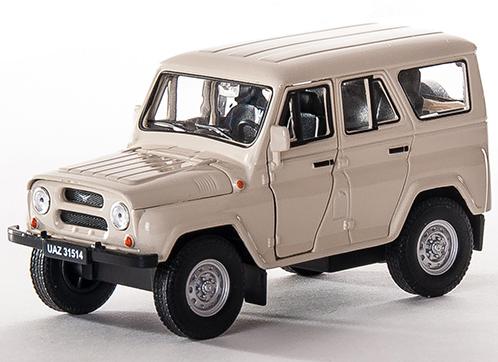 Модель машины УАЗ 31514 - Welly