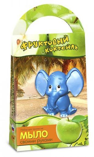Мыло своими руками: Фруктовый коктейль с формочкой слоник - АРОМАФАБРИКА