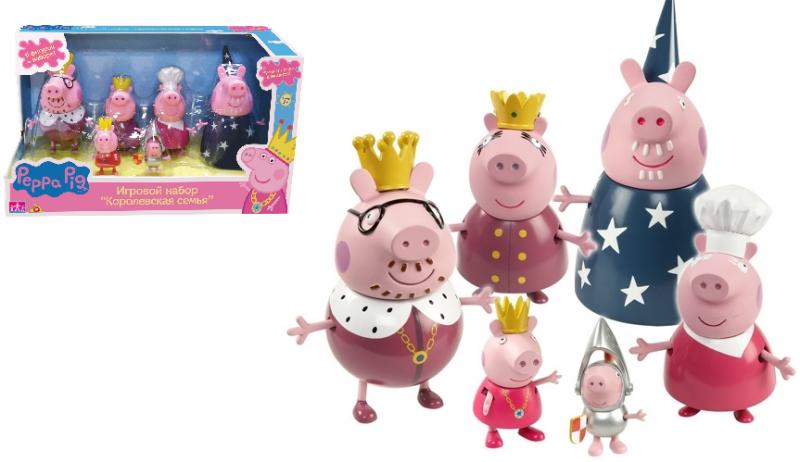 Свинка Пеппа: Набор Королевская семья - Росмэн