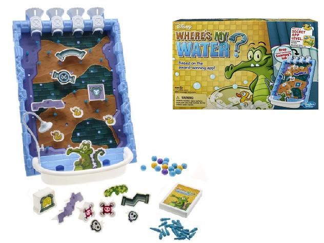 Настольная игра Крокодильчик Свомпи «Где моя вода?» - Hasbro