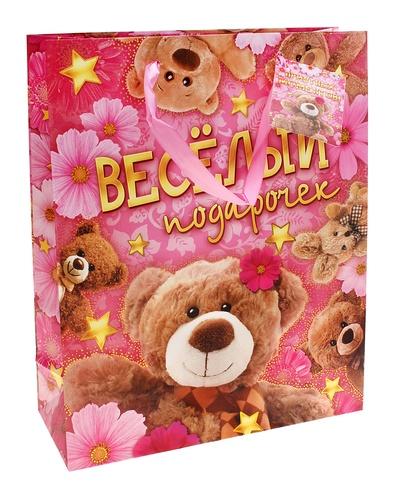 Пакет Веселый Подарочек 44,5х32 см