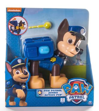 Paw Patrol: Большой щенок с рюкзаком-трансформером Гонщик - Spin master