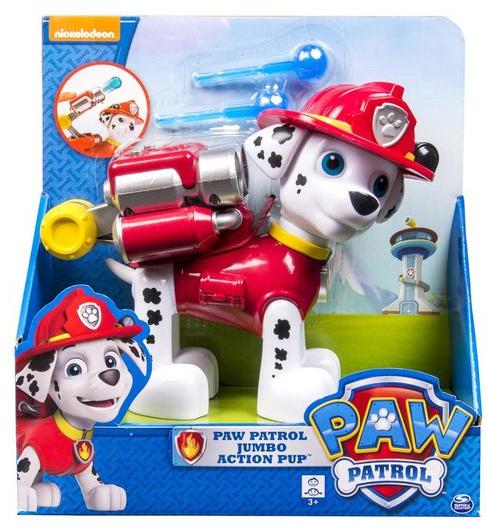 Paw Patrol: Большой щенок с рюкзаком-трансформером Маршал - Spin master
