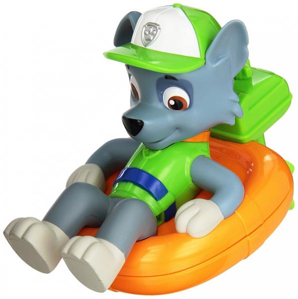 Paw Patrol: Игрушка для ванной, заводная - Рокки