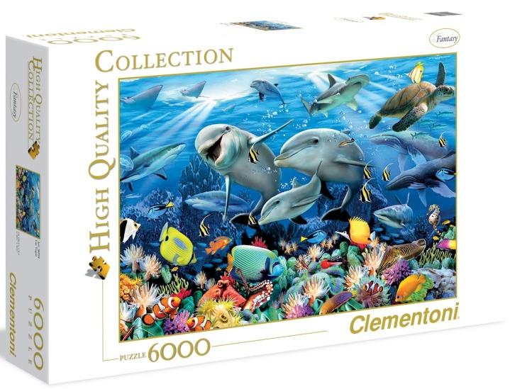 Пазл: Говард Робинсон Подводный мир 6000 элементов - Clementoni