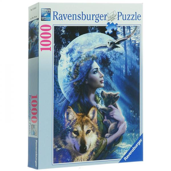 Пазл: Богиня волков, 1000 элементов - Ravensburger