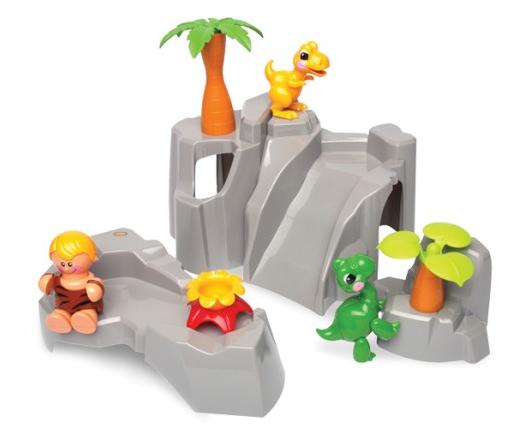Первые друзья: Игровой набор Динозавры – Tolo Toys