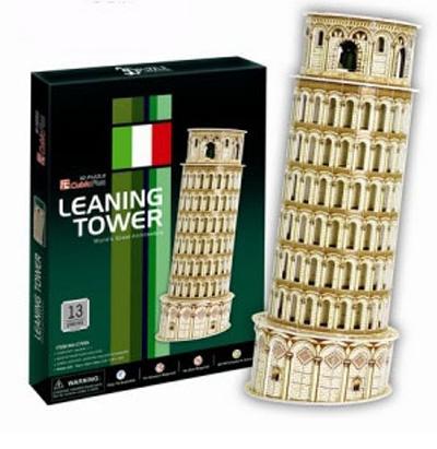 3D пазл: Пизанская башня, средний пазл - CubicFun