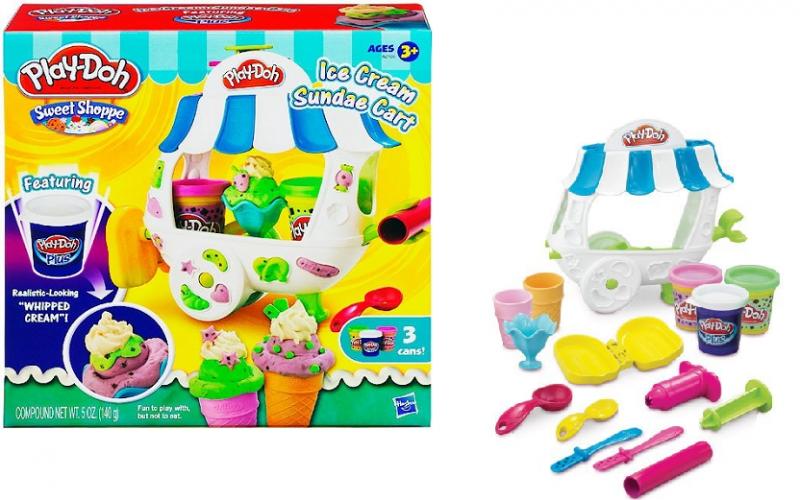 Play Doh: Игровой набор Вагончик мороженого