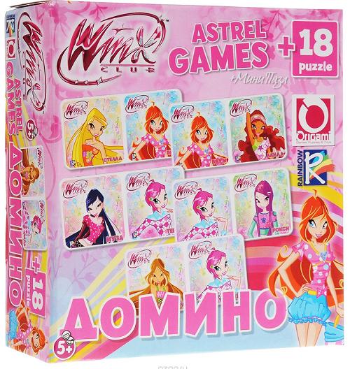 Настольная игра Винкс: Домино +  пазл - Origami Puzzle