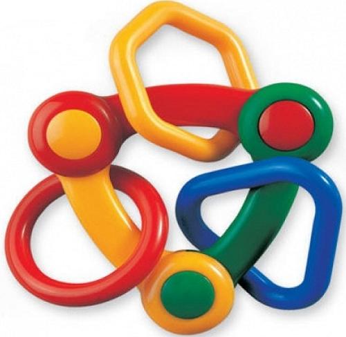 Погремушка Геометрические фигуры – Tolo Toys