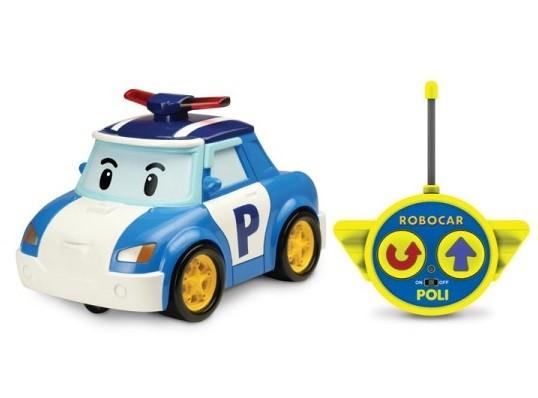 Робокар Поли: Машинка Поли 15 см, на радиоуправлении - Silverlit