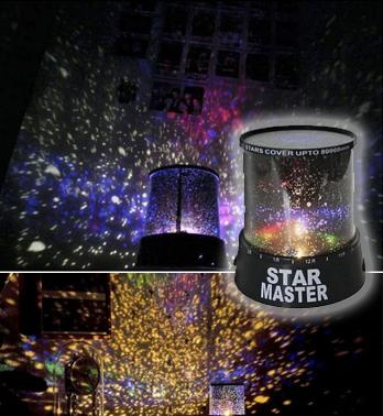 Проектор: Звездное Небо Star Master - Family Fun