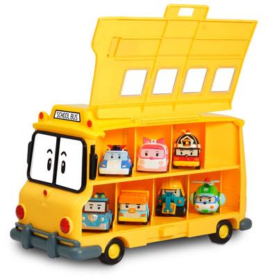 Робокар Поли: Кейс для хранения машинок Скулби - Silverlit