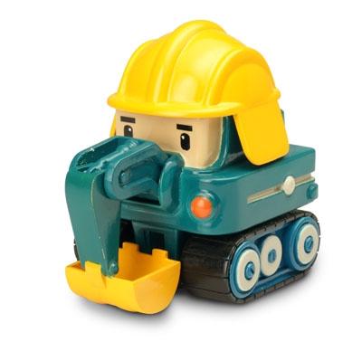 Робокар Поли: Металлическая машинка Пок 6 см – Silverlit