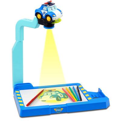 Робокар Поли: Набор для рисования с проектором - Silverlit