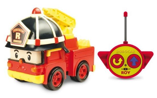 Робокар Поли: Машинка Рой 15 см, на радиоуправлении - Silverlit