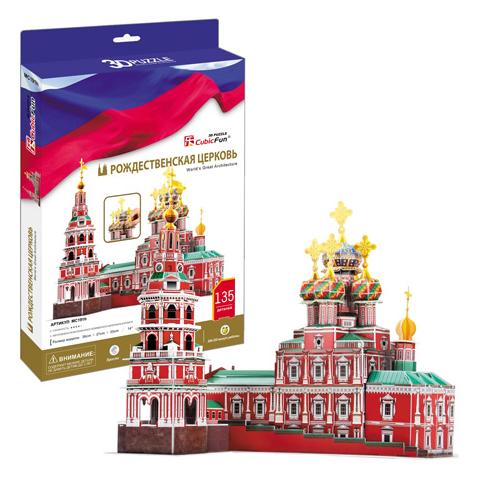 3D пазл: Рождественская церковь – CubicFun