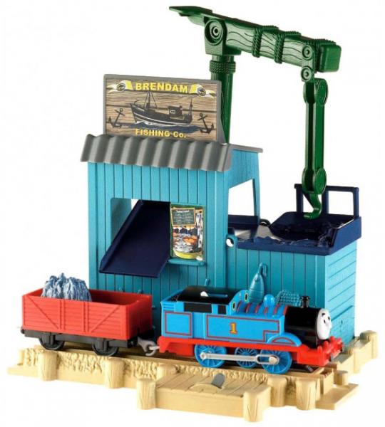 Томас и Друзья TRACKMASTER: Игровой набор Рыболовная станция - Mattel