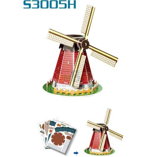 3D пазл: Голландская мельница (мини-серия) - CubicFun