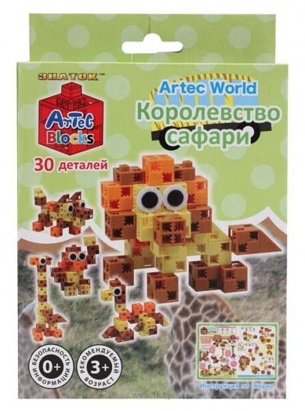 Конструктор ArTeC: World Королевство сафари, 30 дет.