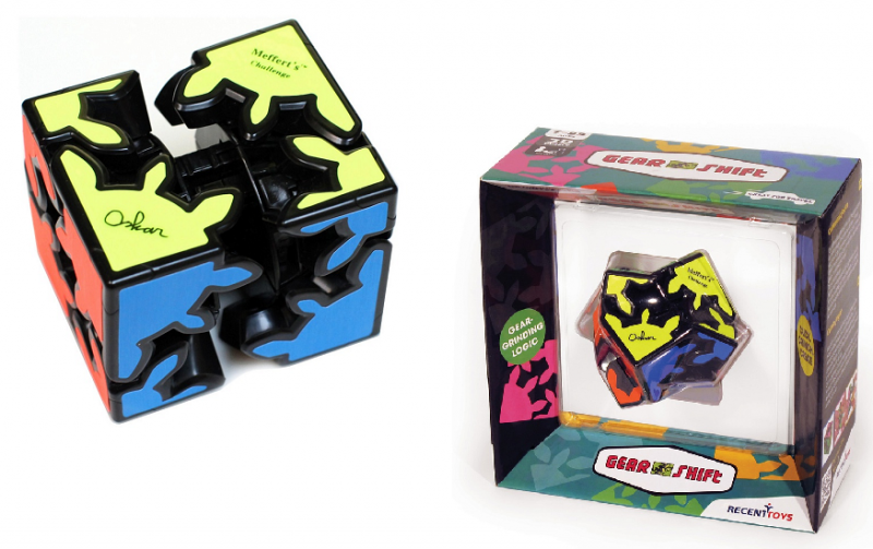 Головоломка: Шестеренки со сдвигом (Gear Shift) – Recent Toys