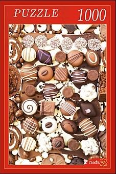 Пазл: Шоколад, 1000 элементов - Рыжий Кот