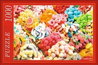 Пазл: Разноцветный мармелад, 1000 элементов - Рыжий Кот