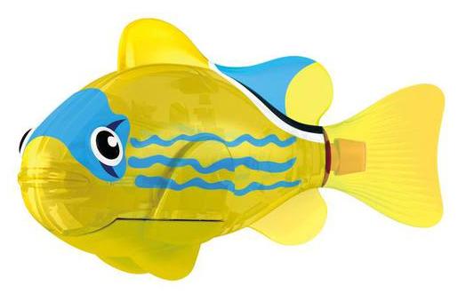 Игрушка Роборыбка Светодиодная Желтый фонарь - Zuru