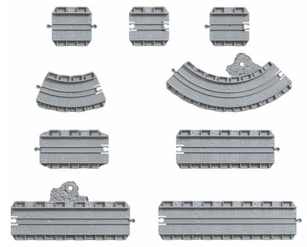 Томас и Друзья TAKE-N-PLAY: Набор рельсов, 22 детали - Mattel