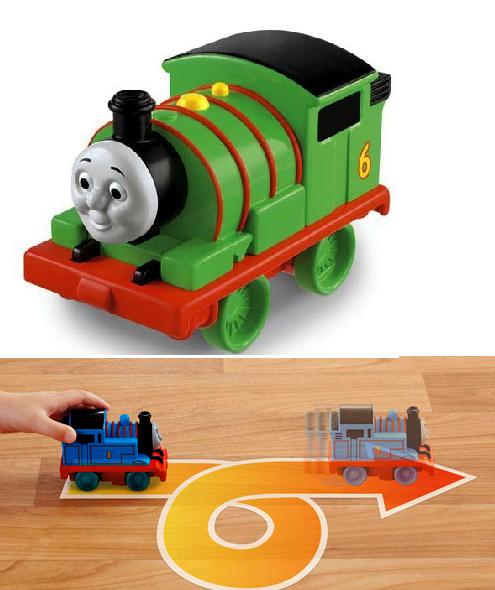 Томас и Друзья: паровозик «Тяни и вращай» Перси - Fisher-Price