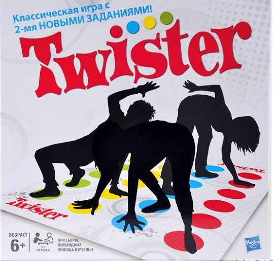 Игра Твистер – 2, Новые задания - Hasbro