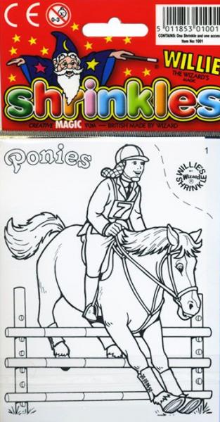 Уменьшалки: Праздничный набор Лошади 1 - Wizard Limited
