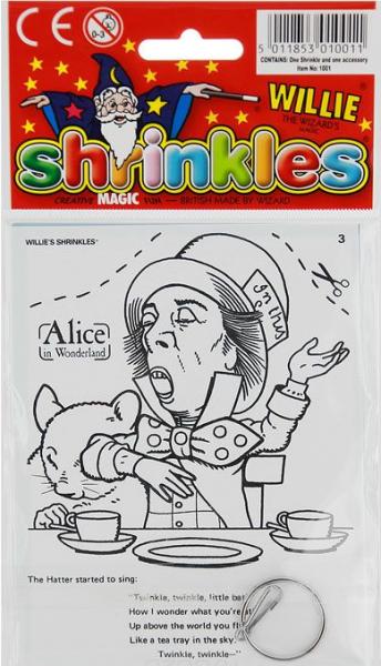 Уменьшалки: Праздничный набор Алиса в стране чудес 3 - Wizard Limited
