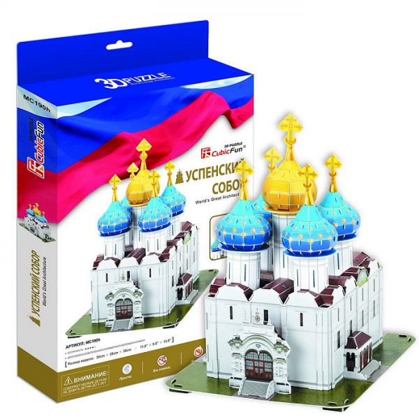 3D пазл: Успенский собор Троице-Сергиевой Лавры – CubicFun