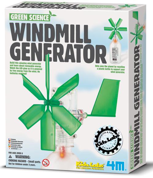 Научный конструктор: Ветряной генератор - 4М