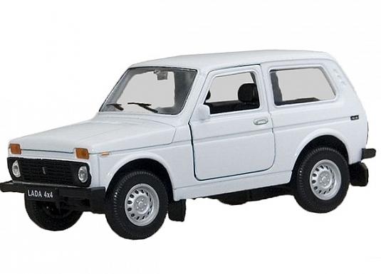 Модель машины LADA 4х4 - Welly