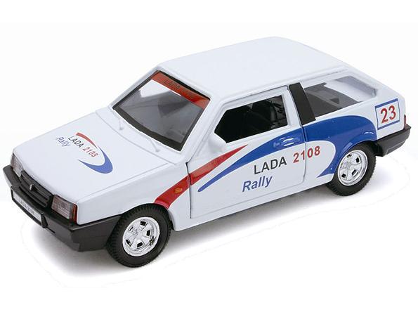 Модель машины Lada 2108 Rally - Welly