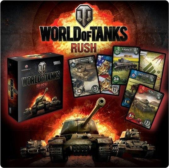 Настольная игра: World of Tanks Rush - Мир Хобби
