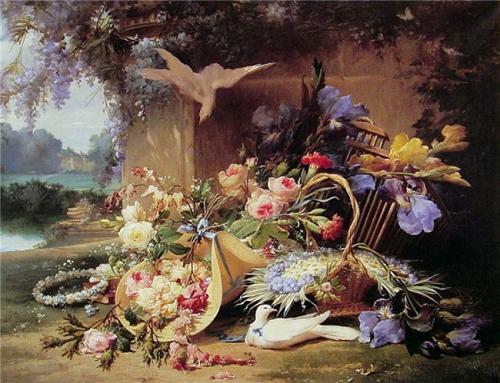 Пазл: Живопись (цветы), 2000 элементов - Castorland